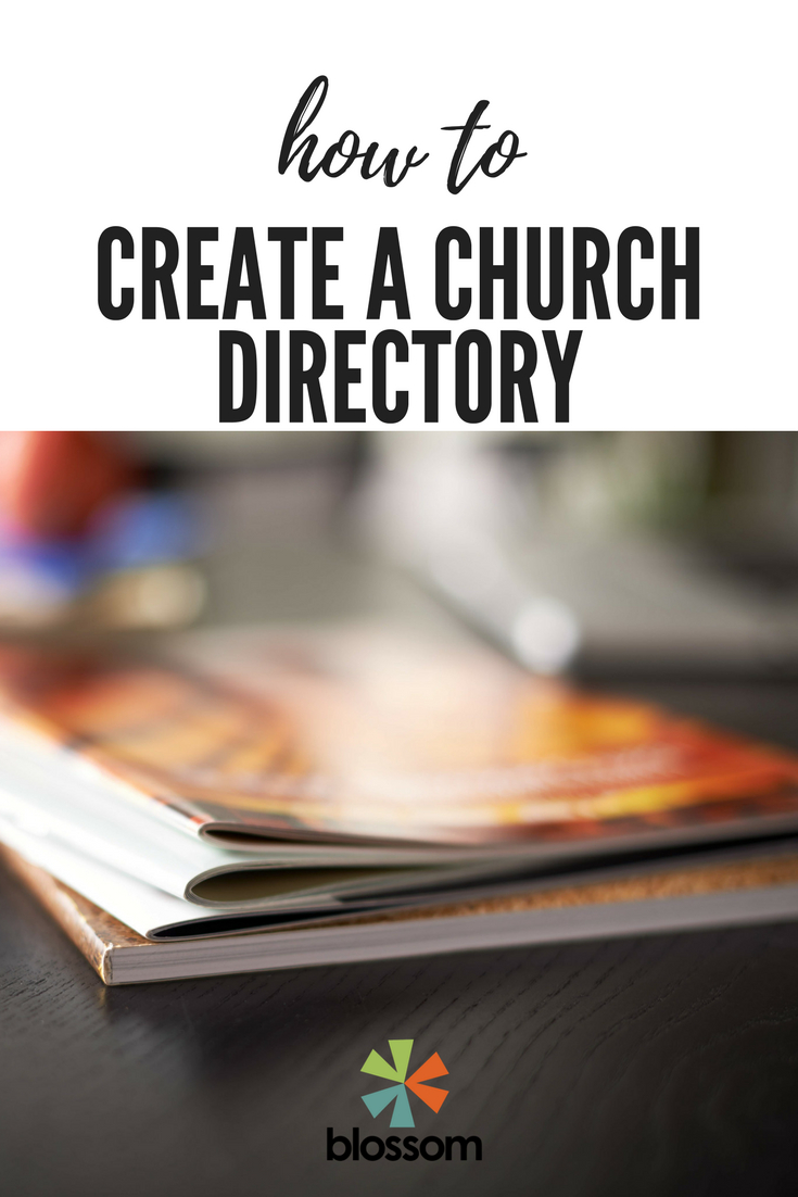 How To Create A Church Directory - Free Printable Church Directory Template