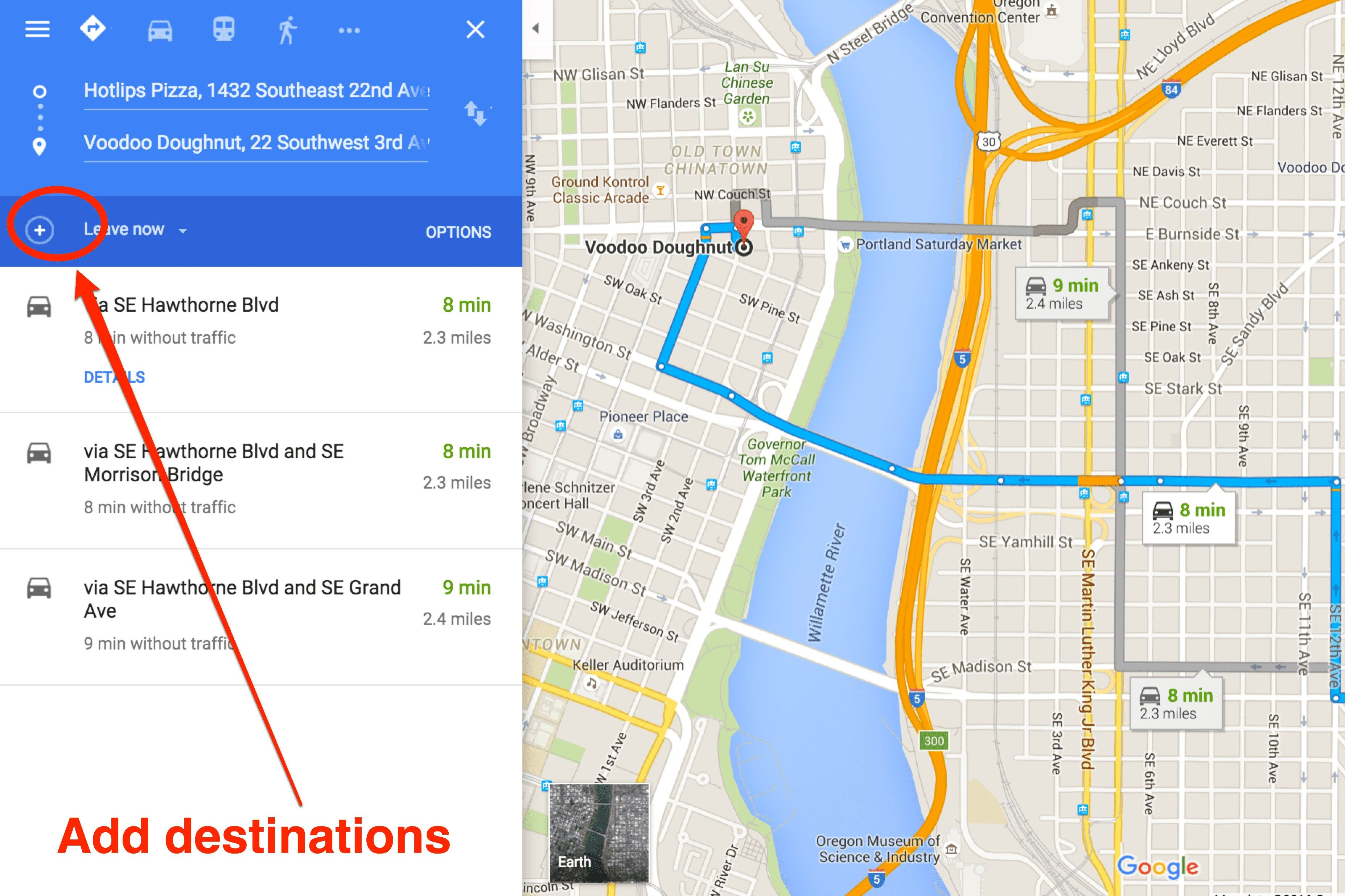 How To Get Driving Directions And More From Google Maps - Free Printable Driving Directions