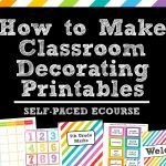 How To Make Teaching Printables And Classroom Decorating Kits To   Free Printable Classroom Tray Labels