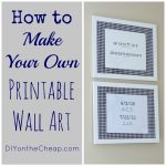How To Make Your Own Printable Wall Art   Erin Spain   Free Printable Wall Art For Bathroom