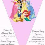 Hundreds Of Free, Printable Princess Coloring Pages, Princess Party   Free Printable Princess Birthday Banner