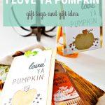 I Love Ya Pumpkin Printable Gift Tags   Free Printable Pumpkin Gift Tags