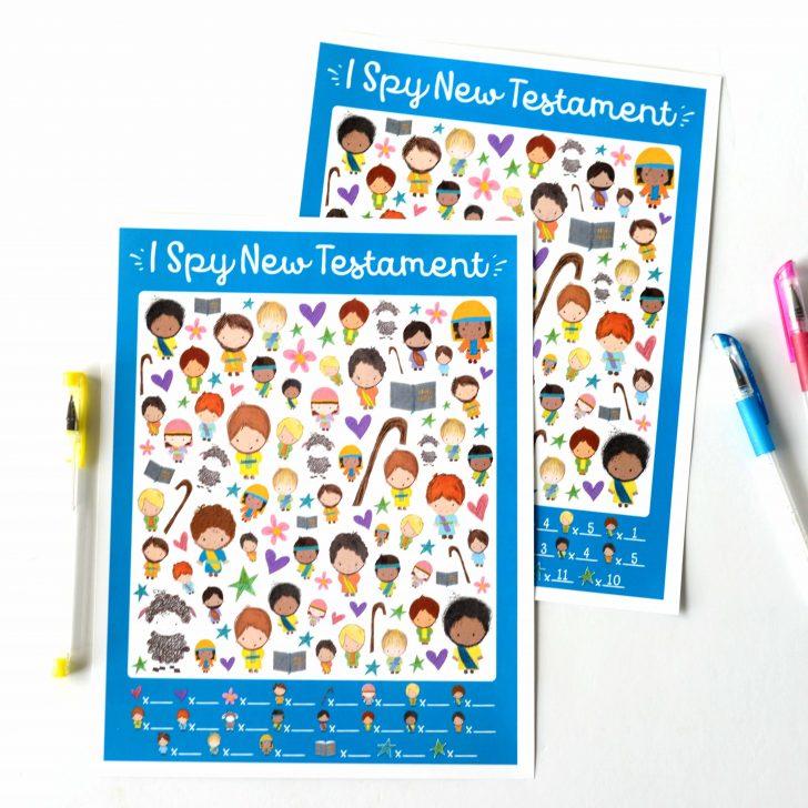 Free Printable Bible Games For Kids