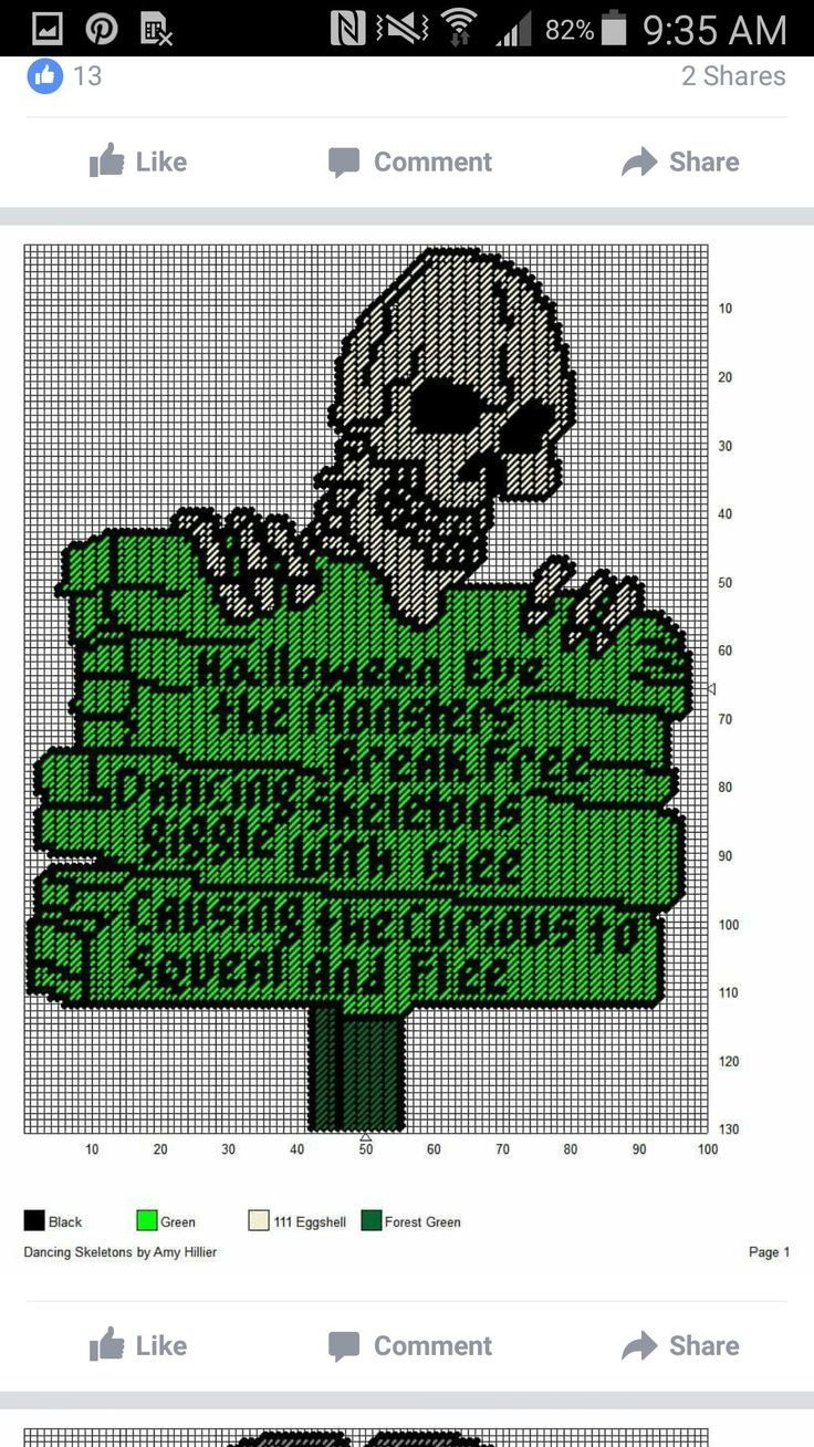 Image Result For Free Printable Plastic Canvas Patterns Skulls - Free Printable Plastic Canvas Patterns
