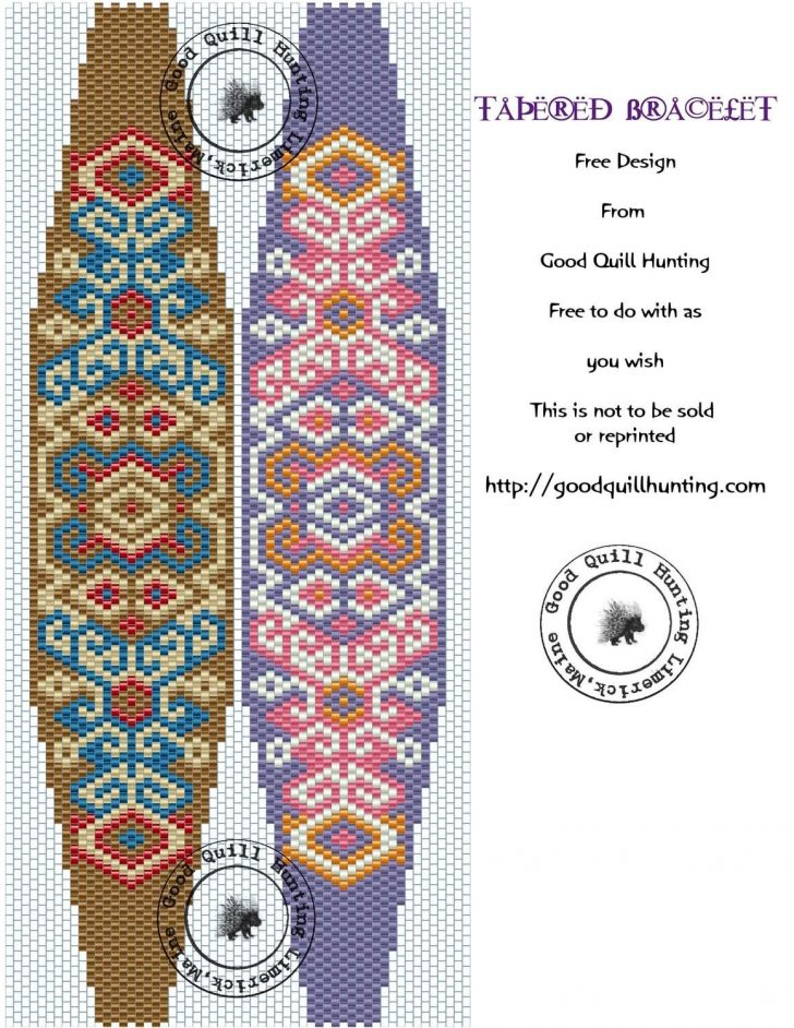 Free Printable Bead Loom Patterns