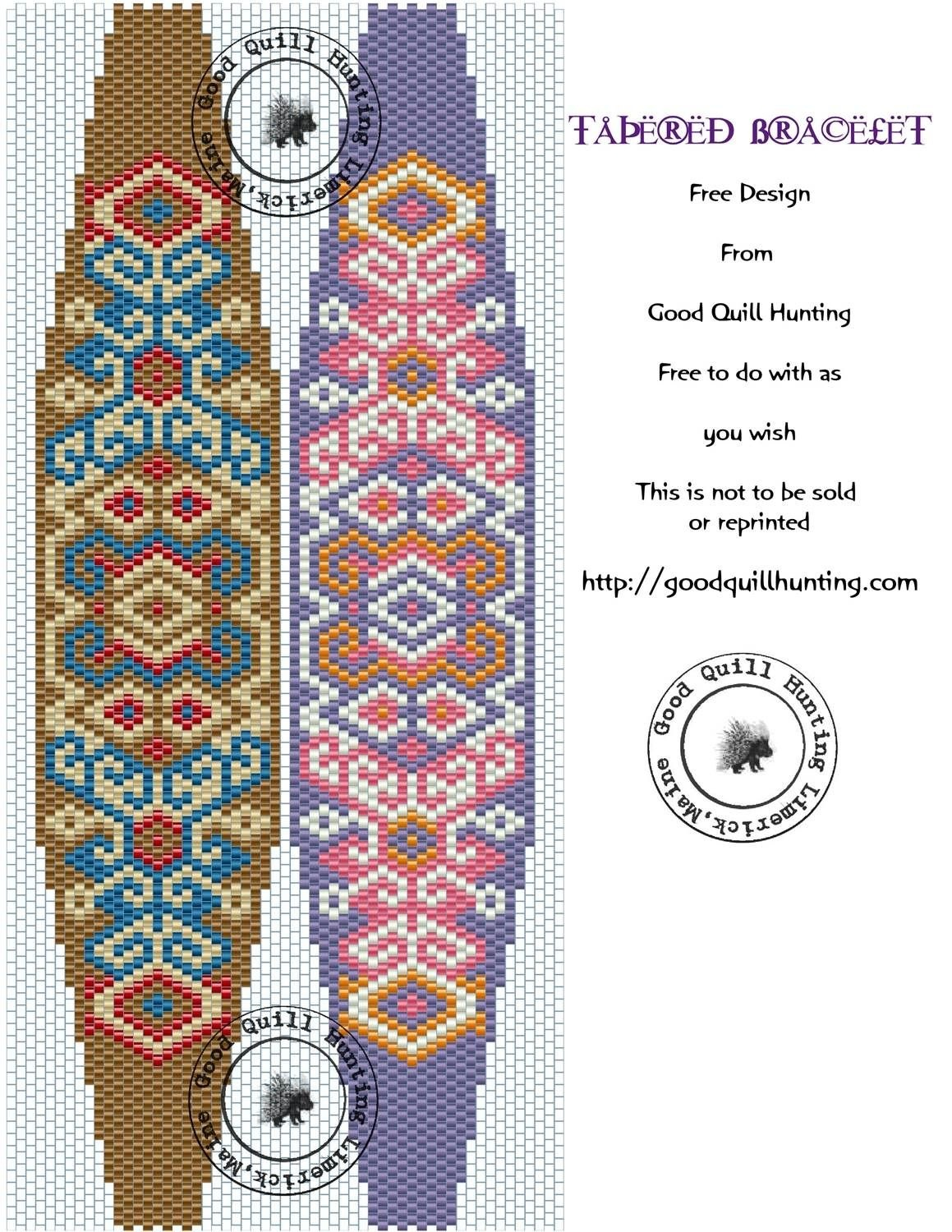 Image Result For Free Printable Seed Bead Patterns   Beadwitched - Free Printable Bead Loom Patterns