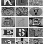 In This Crazy Life: Diy Letter Art On The Cheap!   Free Printable Alphabet Photography Letters