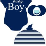Instant Download Baby Nautical Navy Printable Photo Booth Prop Set   Free Printable Boy Baby Shower Photo Booth Props