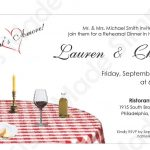 Italian Rehearsal Dinner Invitation Printable | Etsy   Free Printable Italian Dinner Invitations