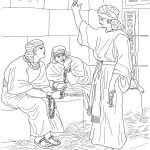 Joseph In Prison Coloring Page | Free Printable Coloring Pages   Free Printable Bible Story Coloring Pages