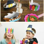 Kara's Party Ideas Free Thanksgiving Hat Printable Crafts | Kara's   Free Printable Thanksgiving Hats