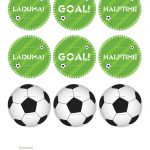Kara's Party Ideas World Cup Soccer Party | Kara's Party Ideas   Free Printable Soccer Birthday Invitations