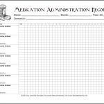 Keeping Track Of Medications {Free Printable Chart}   Flanders   Free Printable Daily Medication Chart
