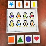 Keywords: Matching,activities,shapes,penguin,animals,toddler,free   Free Printable File Folders For Preschoolers