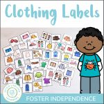 Kids Clothing Drawer Labels   Little Lifelong Learners   Free Printable Classroom Tray Labels