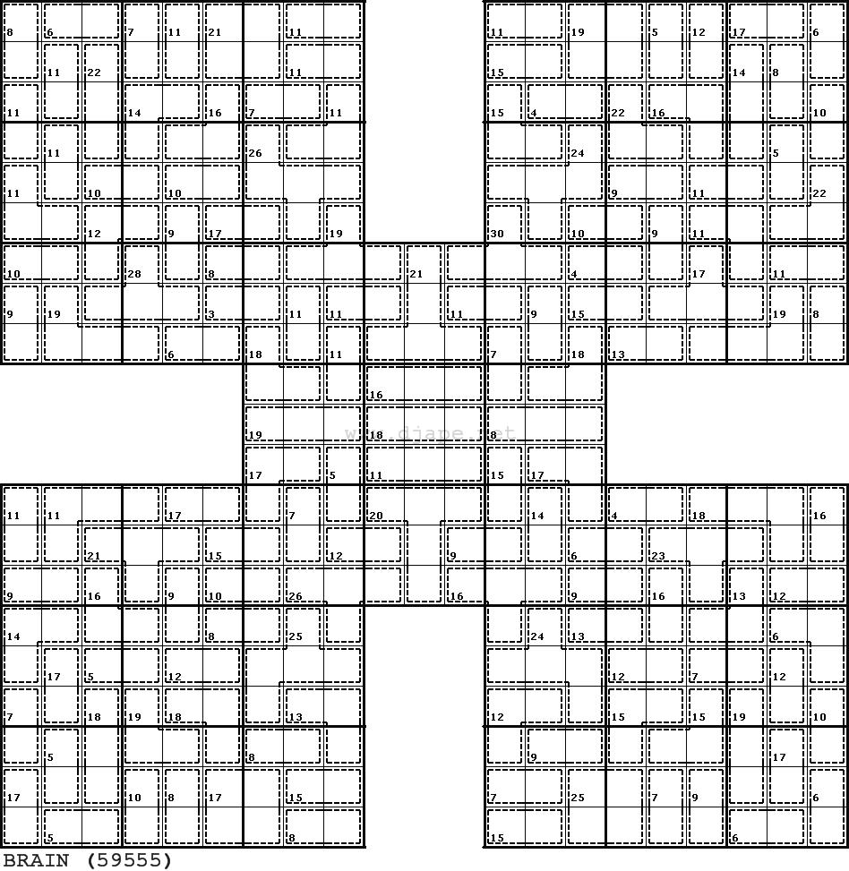 Killer Samurai Sudoku | Puzzles | Samurai, Puzzle, Games - Killer Sudoku Free Printable