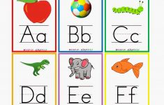 Kindergarten Worksheets: Printable Worksheets – Alphabet Flash Cards 1 – Free Printable Abc Flashcards With Pictures
