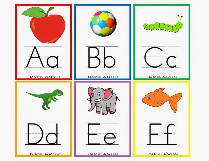 Free Printable Abc Flashcards With Pictures