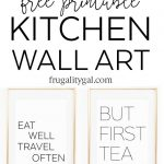 Kitchen Gallery Wall Printables | Free Printable Wall Art   Free Printable Wall Art Quotes
