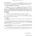 Last Will And Testament Template | Best Template Collection   Last   Free Printable Last Will And Testament Blank Forms