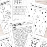 Letter H Worksheets   Alphabet Series   Easy Peasy Learners   Free Printable Letter Recognition Worksheets