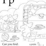 Letter P Seek And Find Pdf | Seek And Find | Free Preschool, Free   Free Printable Seek And Find