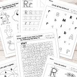 Letter R Worksheets   Alphabet Series   Easy Peasy Learners   Free Printable Preschool Worksheets For The Letter R