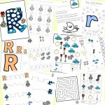 Letter R Worksheets And Printable Preschool Activities Pack   Fun   Free Printable Preschool Worksheets For The Letter R