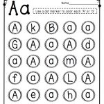 Letter Recognition | Pages Of Grace Resources | Teaching Letters   Free Printable Letter Recognition Worksheets