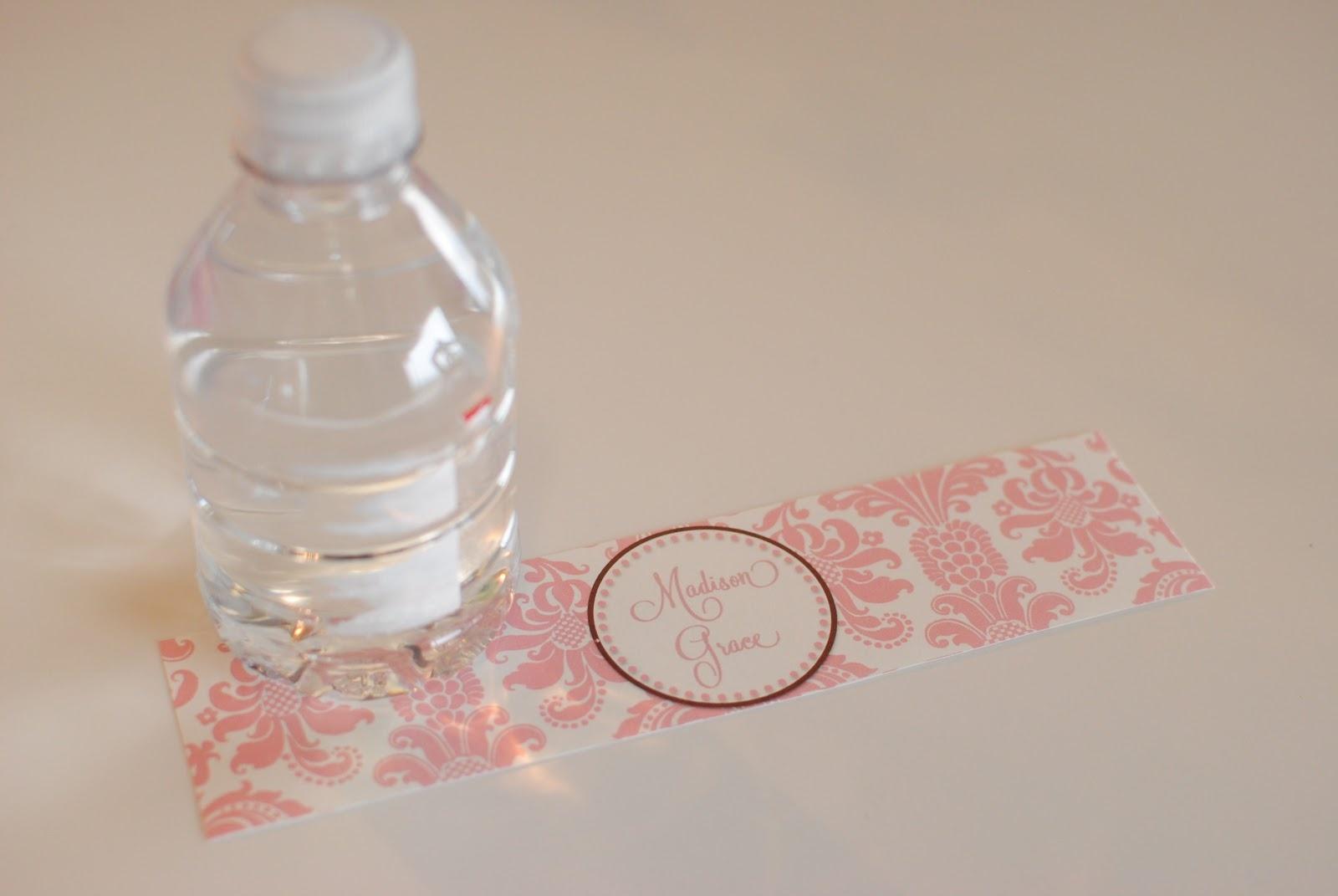 Life {Sweet} Life: Diy Printable Water Bottle Labels - Free Printable Sweet 16 Labels