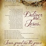 Litany Of Humility Free Printable   How To Nest For Less™   Free Printable Catholic Prayer Cards