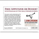 Longhorn Coupons Free Appetizer 2018   Tyson Fully Cooked Chicken   Texas Roadhouse Free Appetizer Printable Coupon 2015