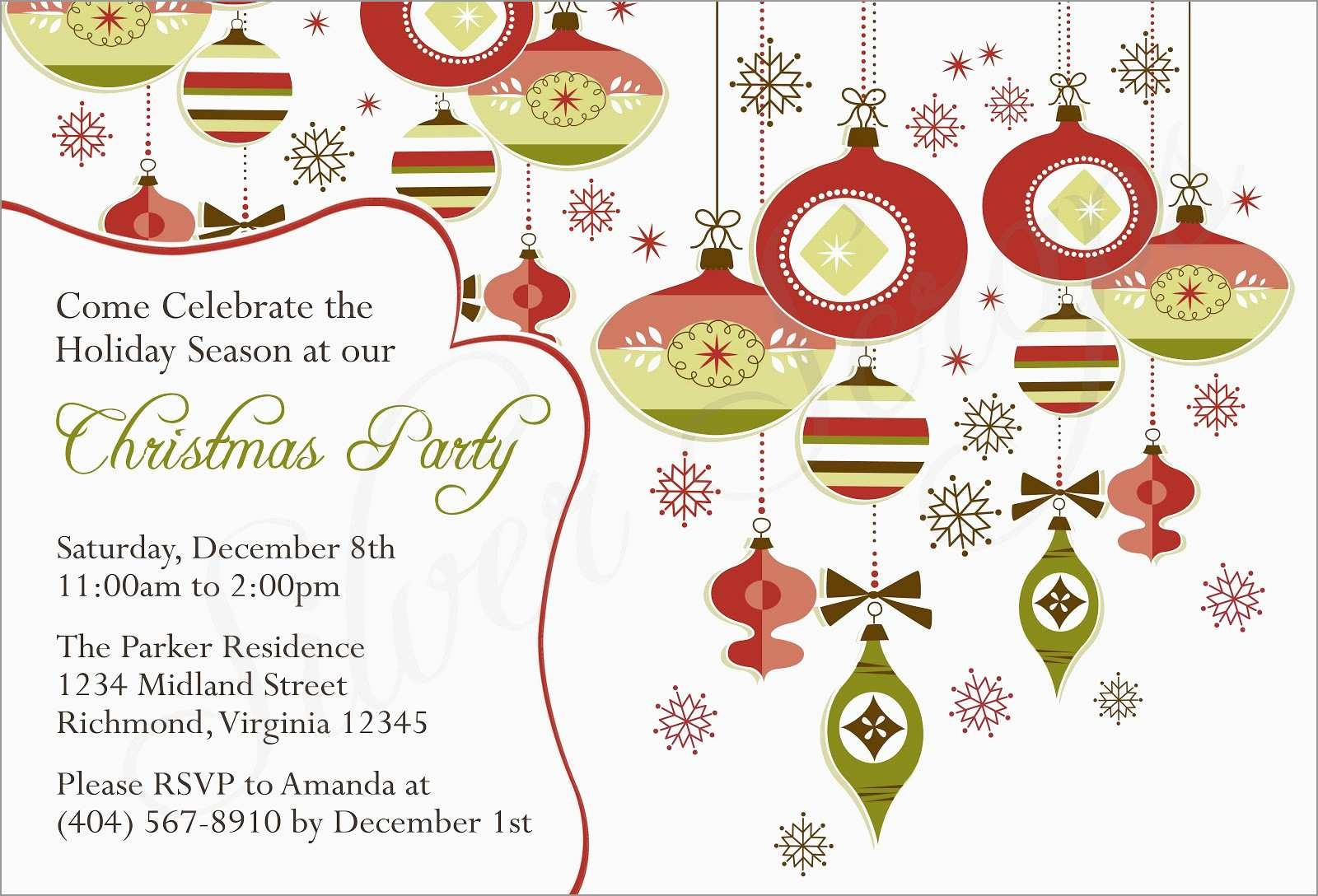 Lovely Christmas Party Invitation Templates Free Printable | Best Of - Free Printable Religious Christmas Invitations
