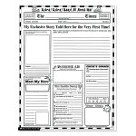 Lovely Free Printable Newsletter Templates | Www.pantry Magic   Free Printable Newspaper Templates For Students
