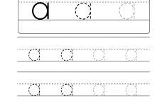 Lowercase Letter Tracing Worksheets (Free Printables) – Doozy Moo – Free Printable Alphabet Tracing Worksheets For Kindergarten