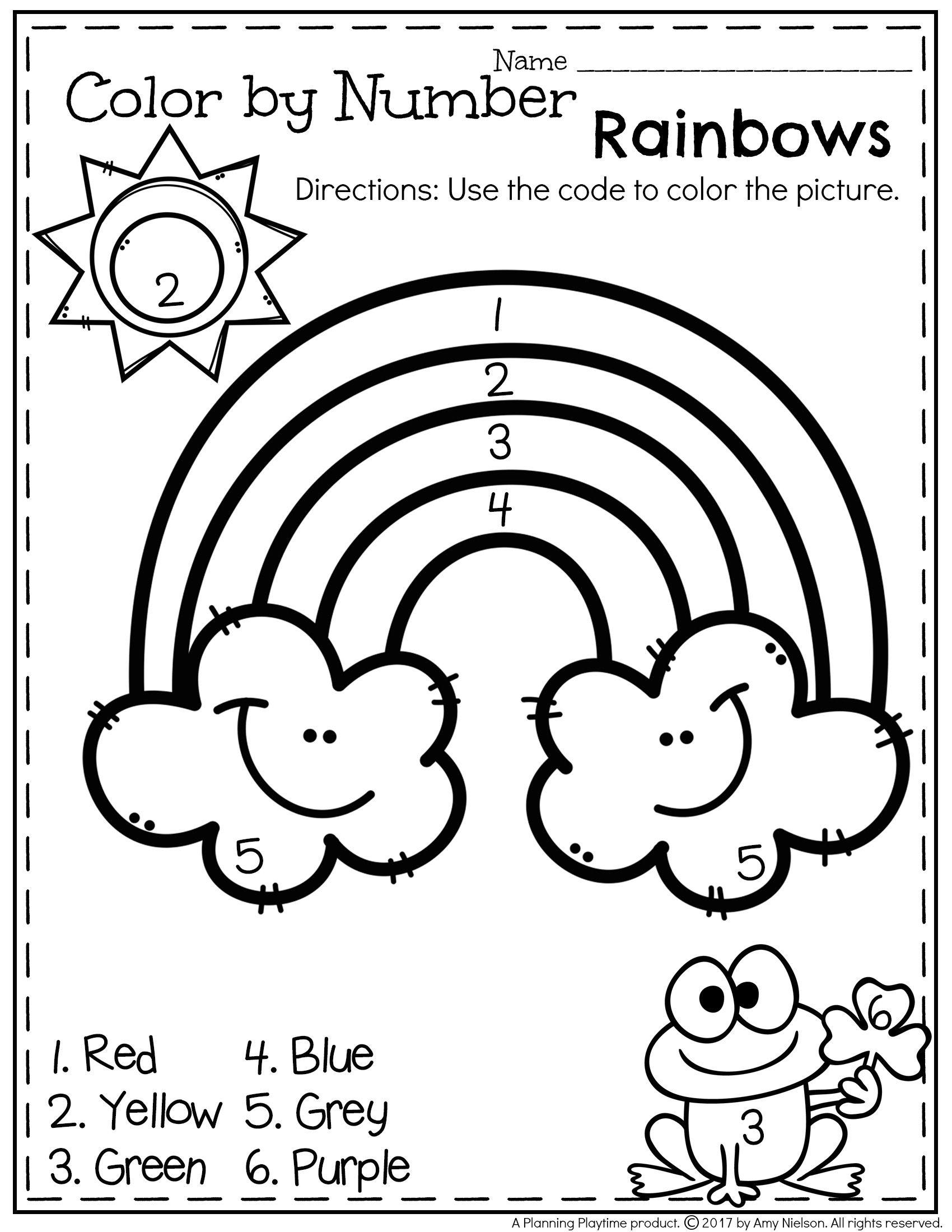 March Preschool Worksheets | Preschool Spring/summer | Preschool - Free Printable March Activities