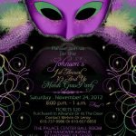 Mardi Gras Birthday Party Invitations | Mardi Gra | Mardi Gras Party   Free Printable Mardi Gras Invitations