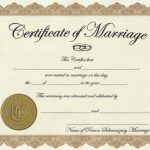 Marriage License Printable Achievement Certificate Template   Free Printable Wedding Certificates