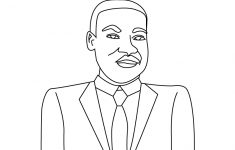 Martin Luther King Jr Coloring Pages | Martin Luther King Coloring – Martin Luther King Free Printable Coloring Pages