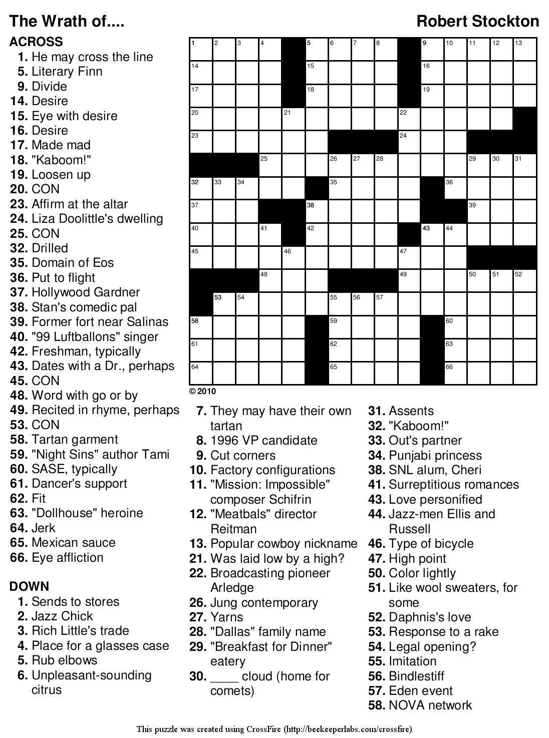 Marvelous Crossword Puzzles Easy Printable Free Org | Chas's Board - Create A Crossword Puzzle Free Printable
