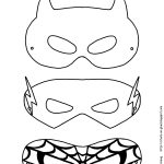 Mask Printable | Free Printable Superhero Mask Template | Masks   Superman Mask Printable Free