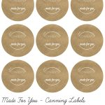 Mason Jar Lid Labels   Google Search | Diy Labels | Canning Jar   Free Printable Mason Jar Labels