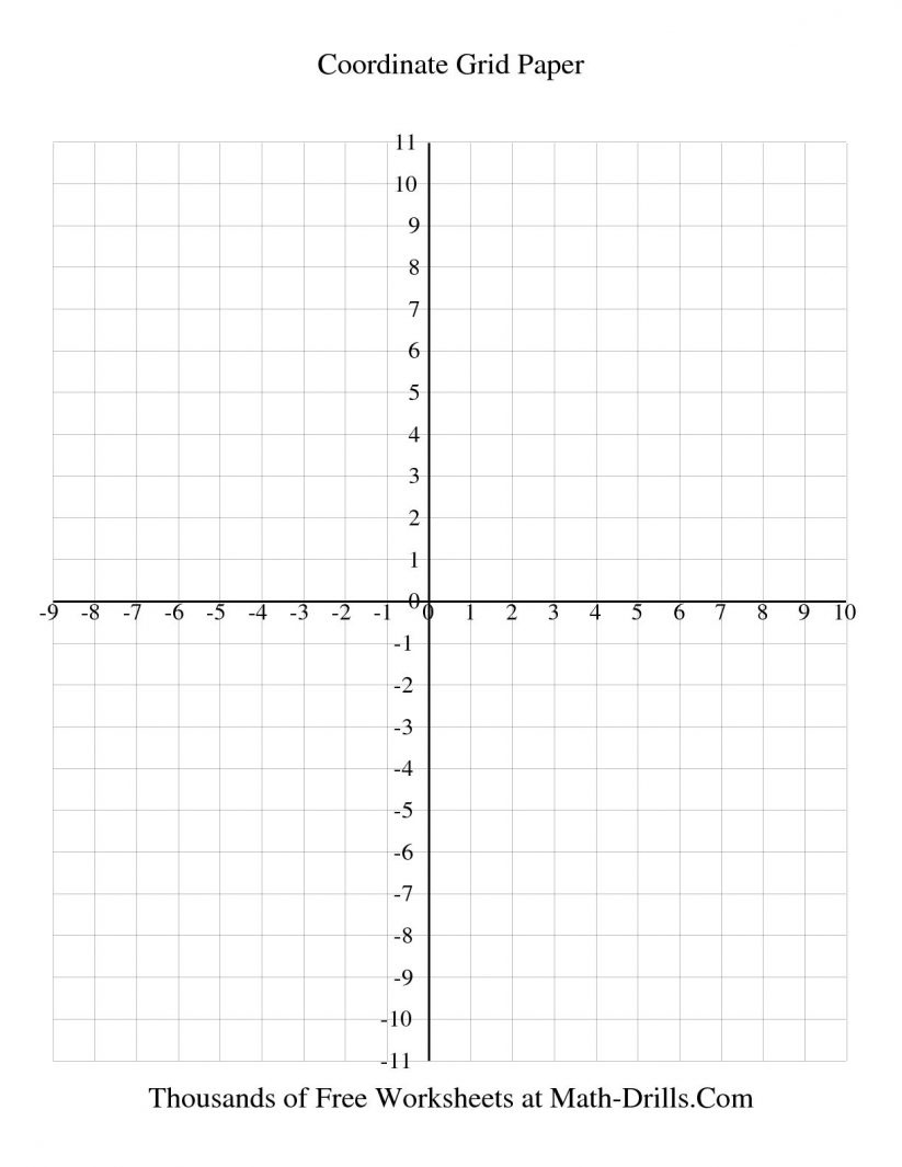 Math : 1 Cm Coordinate Grid Every Line Labeled Graph Paper - Free Printable Coordinate Graphing Pictures Worksheets