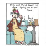 Maxine / John Wagner Artist Signed 8X10 Print Limited Edition 2002   Free Printable Maxine Cartoons