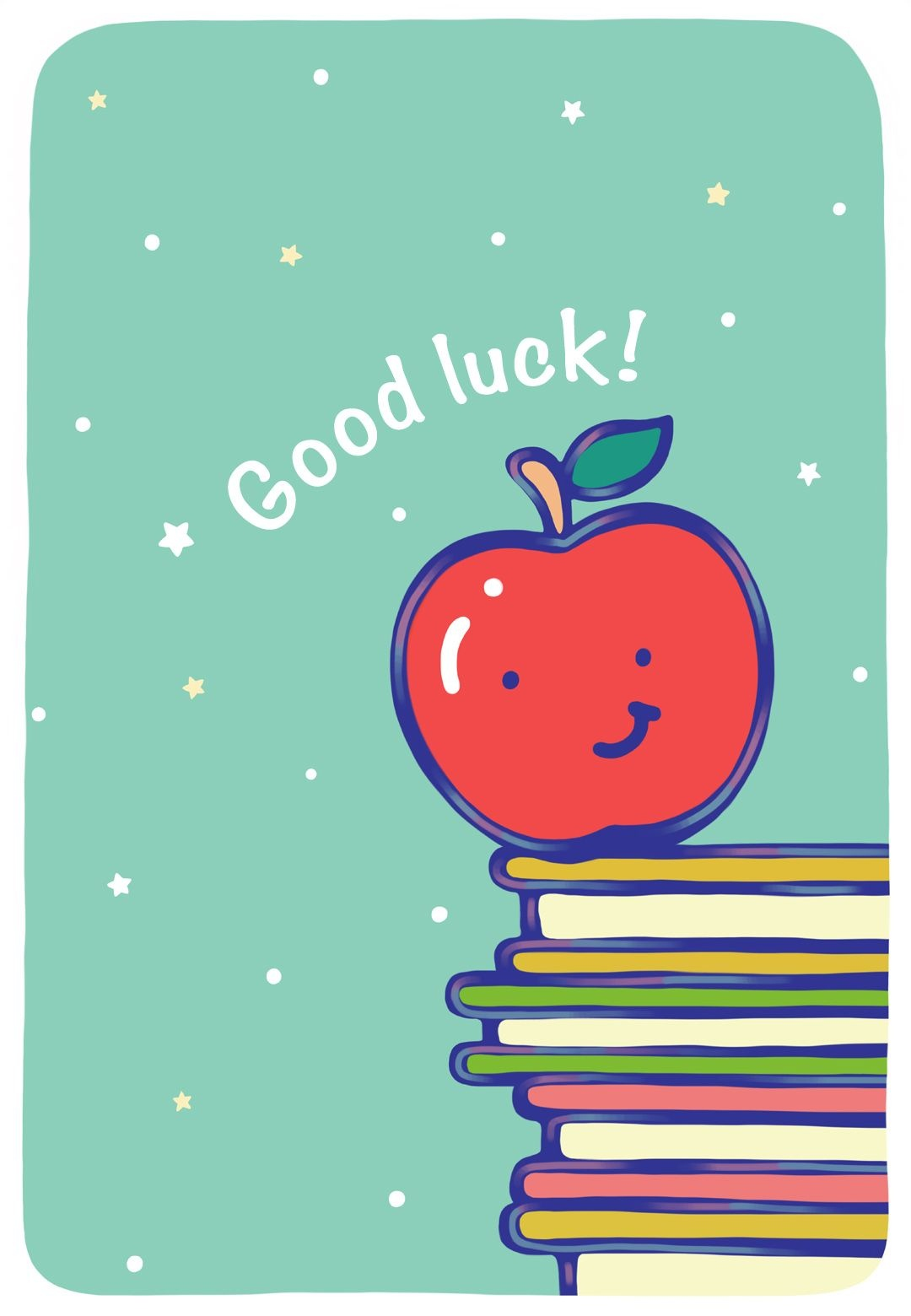 May Hard Work Pay Off Greeting Cardlittlestar Cindy :)   Cute - Free Printable Good Luck Cards