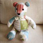 Memory Bear Pattern Free | Emily | Teddy Bear Sewing Pattern, Teddy   Free Teddy Bear Patterns Printable