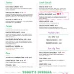 Menu Templates   Imenupro   Free Online Printable Menu Maker
