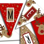 Merry Christmas Banner   Christmas Party Printable Sign, Christmas   Free Printable Christmas Banner