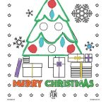 Merry Christmas Printable Coloring Page | Crafty Kids | Christmas   Free Printable Christmas Pictures