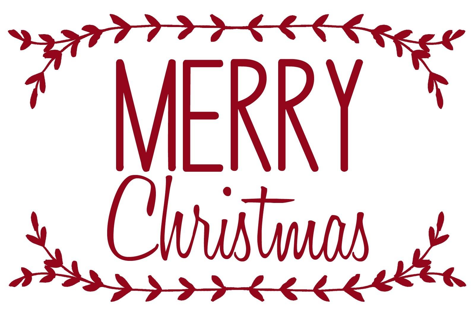 Merrychristmas 16 Christmas Printable Stencils   Xorforums - Merry Christmas Stencil Free Printable